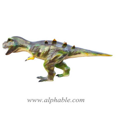 Painted fiberglass dinosaur sculpture FBA-107