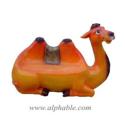 Fiberglass animal sculpture seat FBC-076