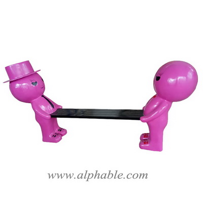 Cartoon outdoor furniture bench FBC-077