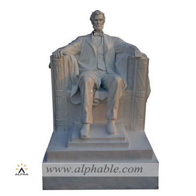 Life size Lincoln statue sculpture FBF-018