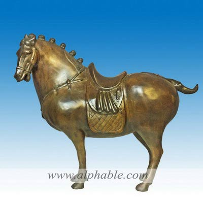 Vintage bronze Tang horse CA-084