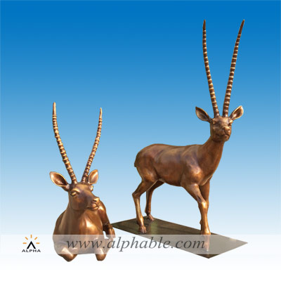 Bronze large animal statues for home CA-093