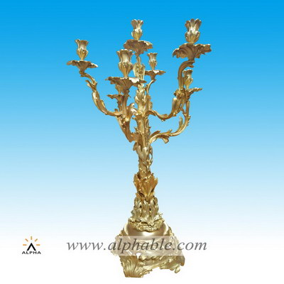 Brass metal candle holders CCD-003