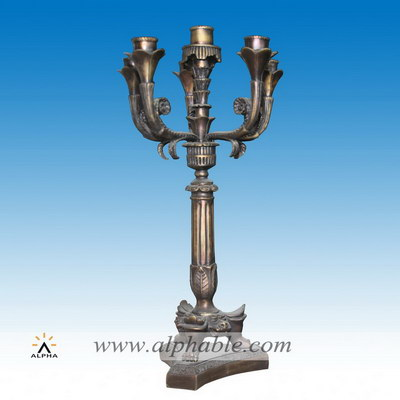 Antique brass candle holders CCD-010
