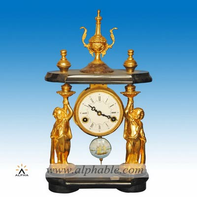 Antique French mantle clock CC-063