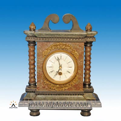 Reproduction old marble clock CC-069