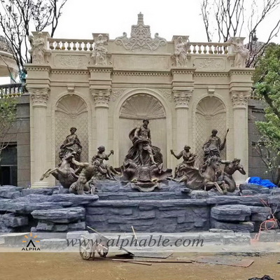 Giant bronze Neptune fountain CCF-009