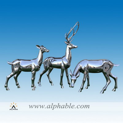 Deer metal art STL-045