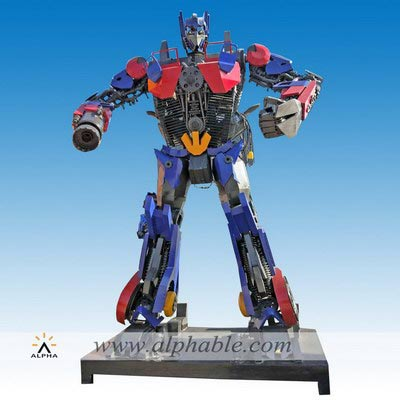 Metal Optimus prime transformers MTS-007