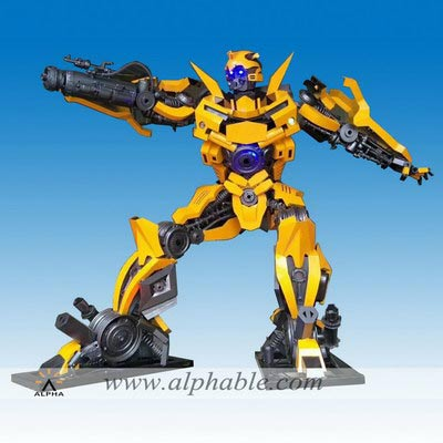 Large metal Bumble transformer MTS-009