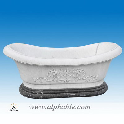 Solid marble stand alone bathtubs ST-032