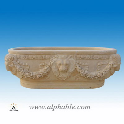 Marble free standing tub ST-033