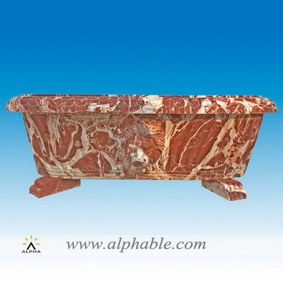 Carved marble oversized bathtub ST-037