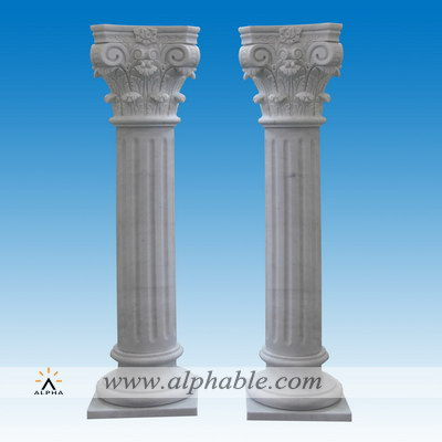 Marble roman pillars for sale SP-077