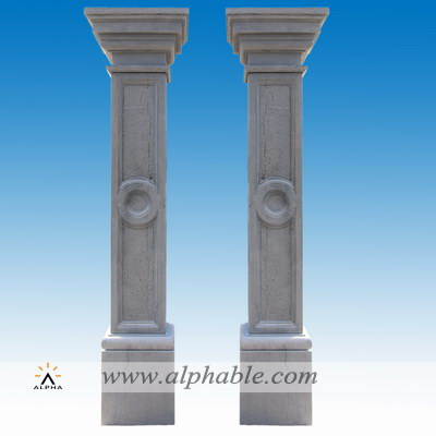 Modern marble square columns SP-079