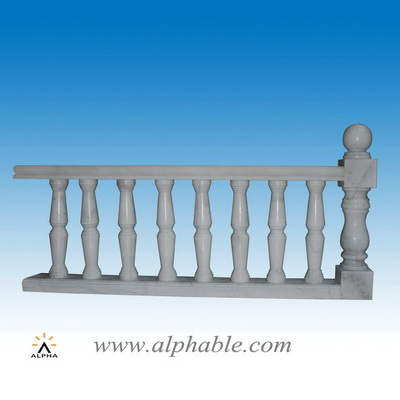 High quality white marble stair SP-087