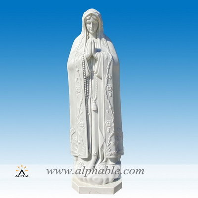 Marble saint statues for the garden SS-416