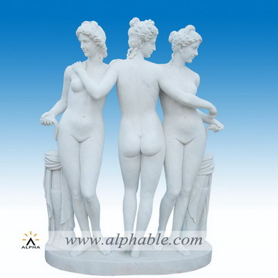 Marble classical Greek sculpture SS-271
