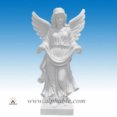 Marble beautiful angel statues SS-379