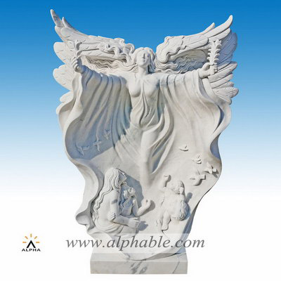 Marble angel of hope statue SS-400