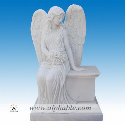 Marble angel monuments SS-401
