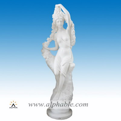 Marble statues of women SS-314