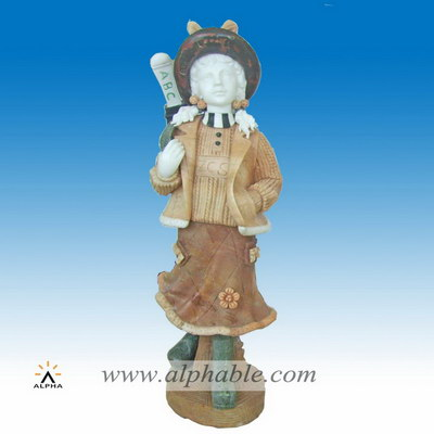 Marble inner child statue SS-335