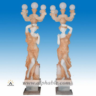 White carrara marble sculpture SS-340