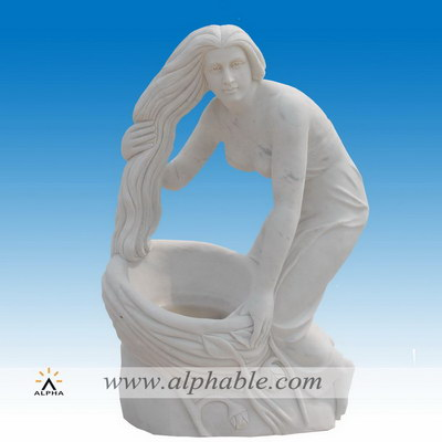 Marble backyard statues SS-356