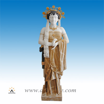 Marble Asian statues SS-251