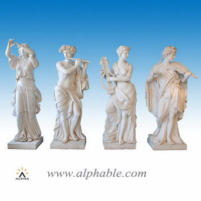 Marble outdoor decor statues SS-326