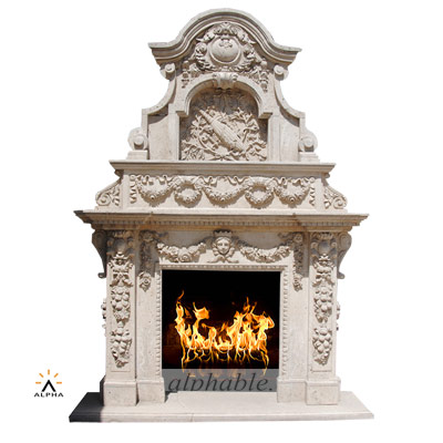 Large size overmantel SF-236