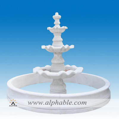 Large outdoor garden fountains SZF-094