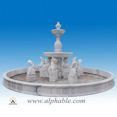 Reproduction Italy horse garden fountain SZF-101