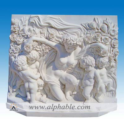 Stone relief carving SR-015