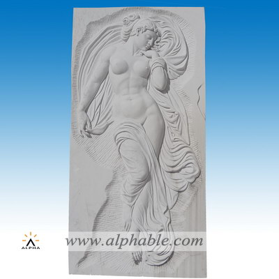 Marble wall relief sculpture SR-016