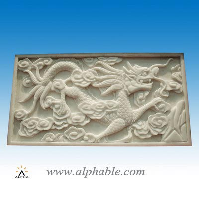 Marble dragon relief SR-018