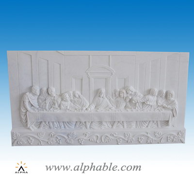 Carved stone The Last Supper relief SR-019
