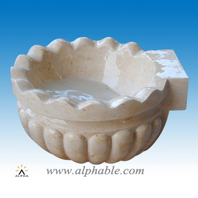 Carved stone sink SK-059