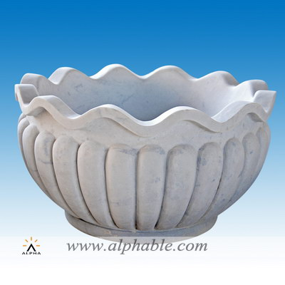 Carved stone sink SK-062
