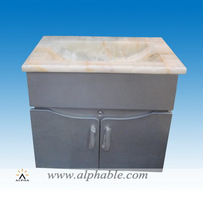 Stone bathroom sink cabinets SK-070