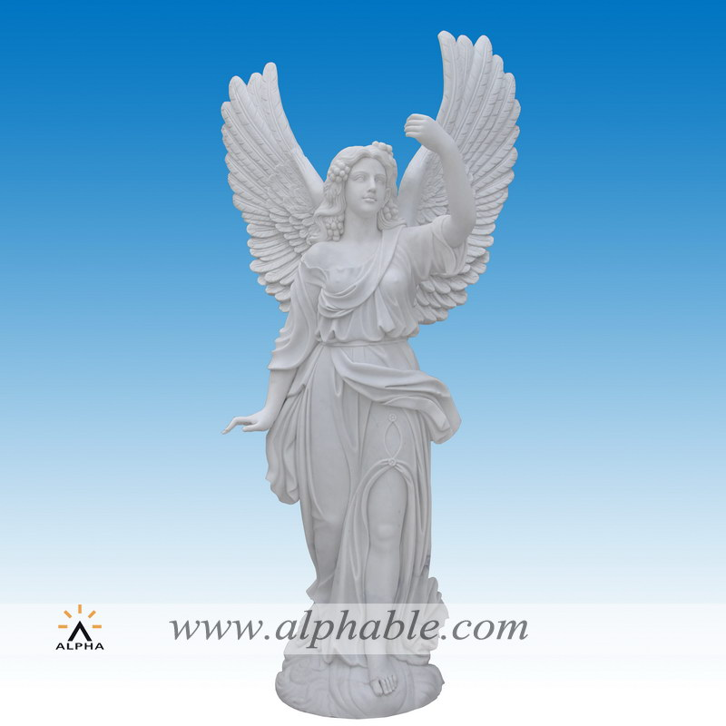 Marble gothic angel statue SS-013