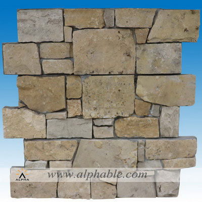 Stone veneer over brick CLT-088