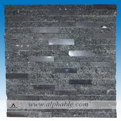 Black stacked stone CLT-097