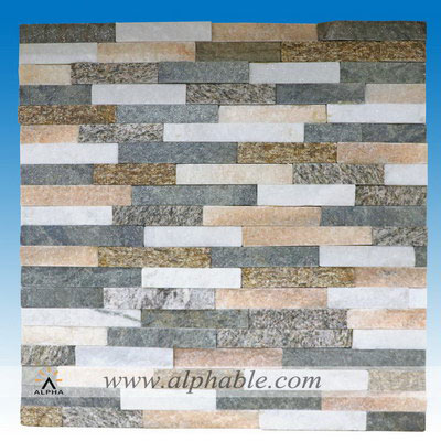 Stacked stone wall tile CLT-099