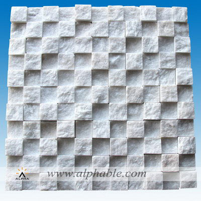 Marble mosaic wall tiles MSC-017